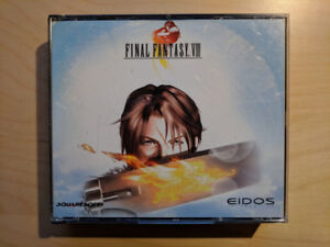 Final Fantasy 8 PC - Missing a Disk