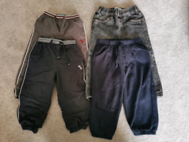 4 X pairs of of age 18-24 months boys trousers