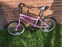 Girls bike as new
