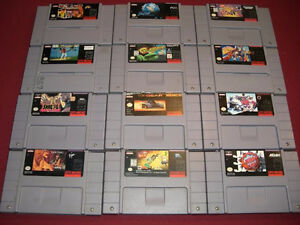 SNES Console and Games!