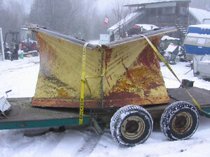 V plow for 5 ton truck or grader in bancroft