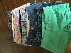 Shorts all size 2