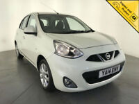 2014 NISSAN MICRA ACENTA AUTOMATIC 1 OWNER SERVICE HISTORY CRUISE CONTROL