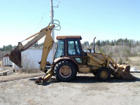 Backhoe for sale or trade for argo 8x8