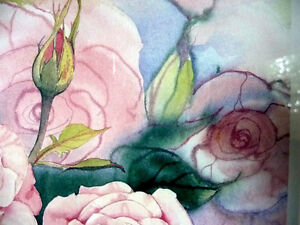 "L/Edition, Hand Signed, Mary-Dawn Roberts, ""Victorian Roses"" Stratford Kitchener Area image 6"