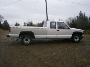 1992 GMC Sierra 2500  diesel Pickup Truck long box