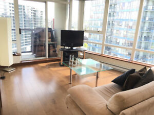 Yaletown Vancouver Modern Furnished 2 Bedroom + 2 Bathroom Condo