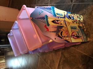 Kids toy bin organizer