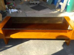 Teak/ Glass Coffee tables