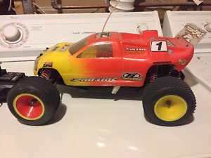 Used Team Losi RC Electric Truck and Radio