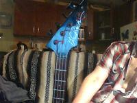 BC Rich Gunslinger Bass Guitar