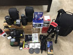 Complete Professional Photographers Nikon Set Up