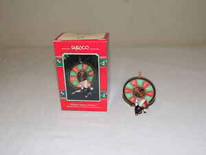Enesco Casino Christmas Series 7 Mice / Mouse Ornaments London Ontario image 7