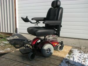 Pronto M41-6 Electric Wheelchair with Sure Step