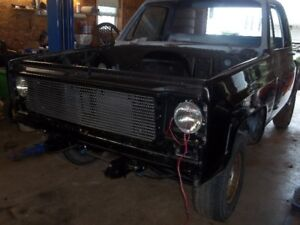 1976 Chevrolet C10 Stepside project
