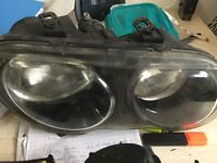 Rover mg zr 25 front left and right headlamps