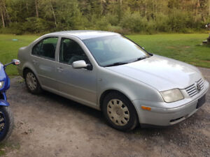 2005 Jetta TDI  with parts car