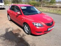 Mazda 3 1.6 TS 5dr- Electric windows, Ford Focus Running gear with a better design- MOT 2017