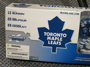 McFarlane - Toronto Maples 3 pack - Sundin/Belfour/Mogilny Kitchener / Waterloo Kitchener Area image 4