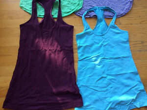 Lululemon tank tops, NEW condition, size 4! 4 tops = $60!! Strathcona County Edmonton Area image 3