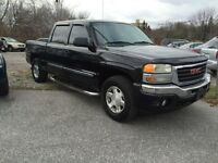 2006 GMC SIEERA ,SLE ,Z71,4X4 SUPER CLEAN.