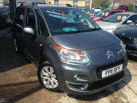 2011 (11) Citroen C3 Picasso 1.6HDi 16v (110bhp) Exclusive (Finance Available)