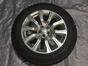 """OEM 18"""" Range Rover Evoque wheels (Style 506) with Winter Tires"""