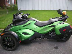 spyder 2012 can-am rs-s se5