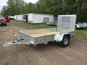 NEW Sure Trac 6x10ft Galvanized Utility Trailer $2799