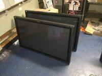 6x Panasonic TV Monitors for sale 43in