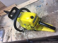 Titan 60cc chainsaw cord has come out but works