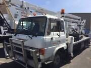 9/1984 HINO FD CAB CHASSIS CHERRY PICKER CARRIER Airport West Moonee Valley Preview