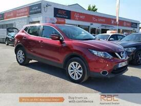 NISSAN QASHQAI DCI ACENTA SMART VISION, Red, Manual, Diesel, 2014