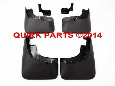 GENUINE OEM NEW 2009-2017 VW Volkswagen Tiguan Front & Rear Splash Guards Set, used for sale  Braintree