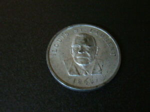 1948 Special Collector Coin – Louis St-Laurent Stratford Kitchener Area image 1