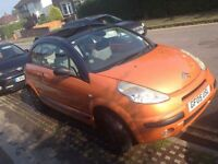 Citroen c3 pluriel 56k mot until sept