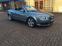Not to be missed ✅ 2008 Audi A4 convertible 2.0 tdi s line hpi clear vosa verified FSH 2 keys