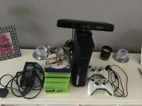 Xbox 360 console and Kinect