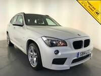 2014 BMW X1 SDRIVE20D M SPORT DIESEL 1 OWNER BMW SERVICE HISTORY FINANCE PX