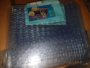 New Sink Mats - Crystal Clear Sink Protector Size 12.5 X 11