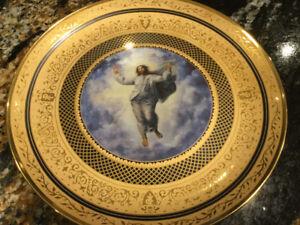 Religious collector plates
