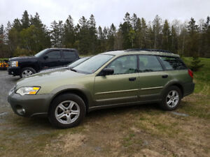 2007 Subaru outback 2.5i manual