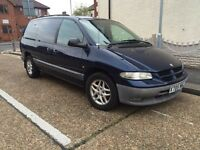 Chrysler Grand Voyager 2.5 diesel Td manual 7seats FULL SERVICE HISTORY1owner from new77k