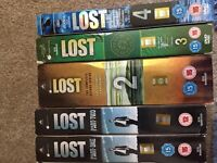 Lost seasons 1-4