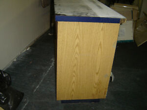 $150 · Used wood counter for the store with some shelves Regina Regina Area image 4