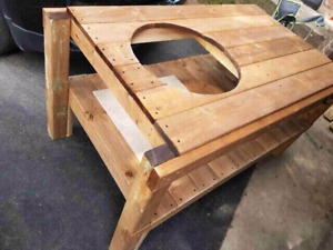 Big green egg stand (large)