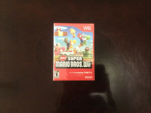Selling New Super Mario Bros for Nintendo Wii..