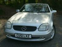 2001 Mercedes-Benz SLK 2.3 SLK230 Kompressor 2dr Convertible Petrol Automatic