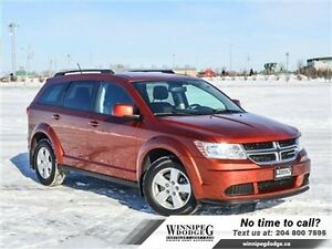 2014 Dodge Journey SE Plus w/Bluetooth *LOCAL TRADE*  w/Bluetoot