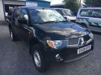 Mitsubishi L200 4x4 pick up did double Cab 2009 09 Reg